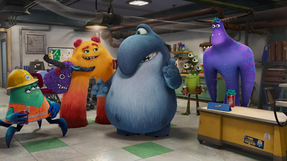 """The new monsters of """"Monsters At Work"""" on Disney+."""