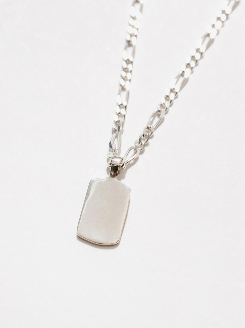 "This sterling silver necklace from Wolf Circus is from the Canadian jewelry brand's new <a href=""https://www.wolfcircus.com/collections/everybody"" rel=""nofollow noopener"" target=""_blank"" data-ylk=""slk:Everybody"" class=""link rapid-noclick-resp"">Everybody</a> collection, which is exactly what it sounds like it is: a jewelry collection for everybody — they'll love it. <br><br>(The price shown here is in USD, while the website presents price in CAD.) <br><br><strong>Wolf Circus</strong> Indy Necklace in Sterling Silver, $, available at <a href=""https://go.skimresources.com/?id=30283X879131&url=https%3A%2F%2Fwww.wolfcircus.com%2Fcollections%2Feverybody%2Fproducts%2Findy-necklace-in-sterling-silver"" rel=""nofollow noopener"" target=""_blank"" data-ylk=""slk:Wolf Circus"" class=""link rapid-noclick-resp"">Wolf Circus</a>"