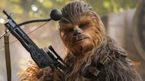 <p>The beloved wookie was Han Solo's best mate and loyal co-pilot on the Millennium Falcon. The duo were smugglers that helped saved the rebel alliance. </p>