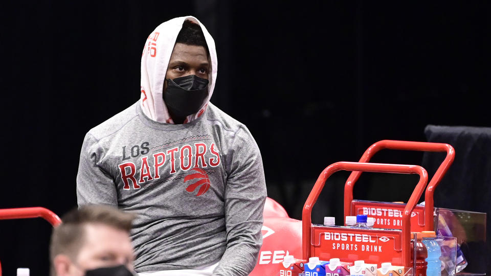Kyle Lowry didn't deserve this. (Photo by Douglas P. DeFelice/Getty Images)