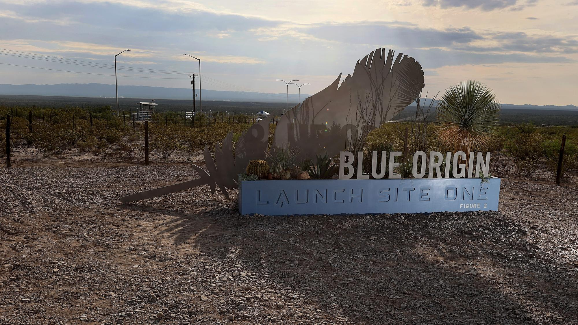 UPDATE 1-Blue Origin sees clear skies for inaugural space flight by Bezos and crewmates
