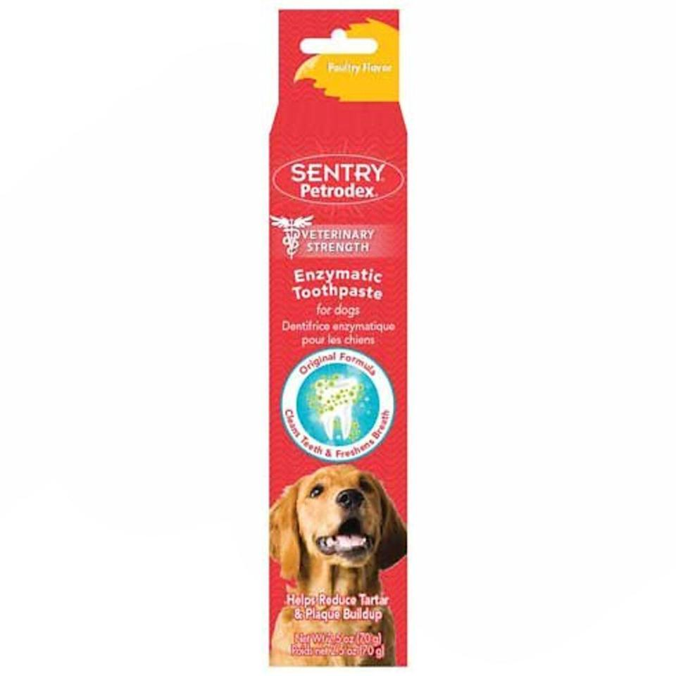 Sentry Poultry Flavor Dog Toothpaste