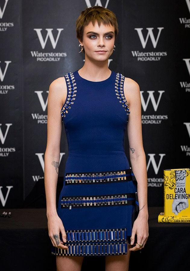 Cara has hit out at the movie producer saying he made several unwanted advances towards her. Source: Getty