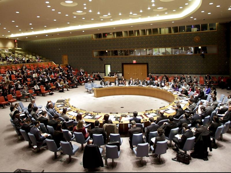 United Nations leaders will not hear from Donald Trump in person next week when the General Assembly meets in New York, due to Covid-19. (AP)