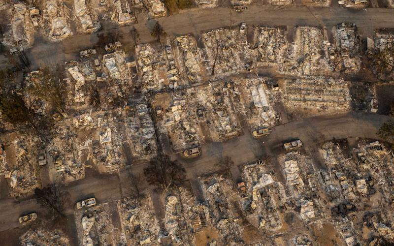 Hundreds of homes in Phoenix, Oregon have been lost due to wildfire - Getty Images North America