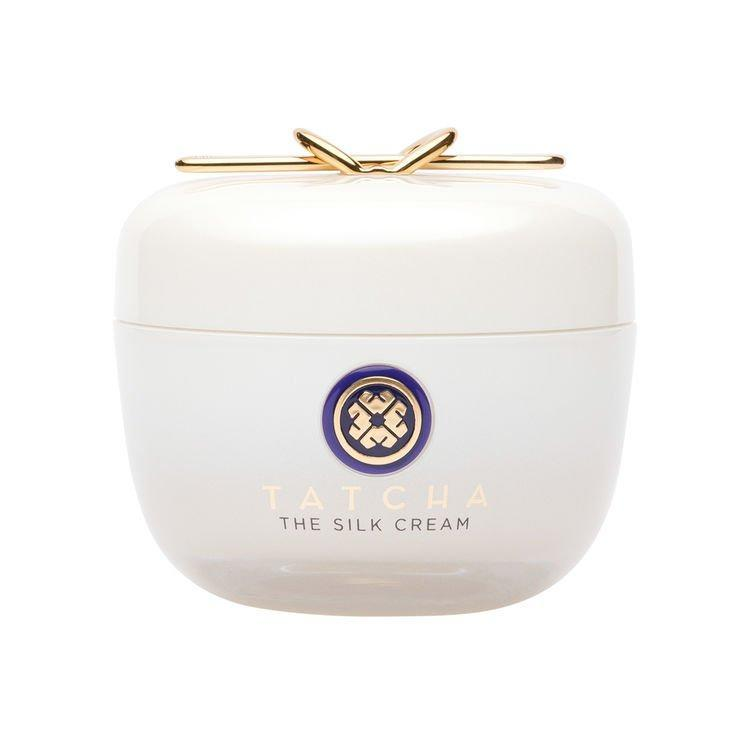 """If you want a moisturizer that hydrates on top of firming and targeting fine lines, you need the big guns, and that's <a href=""""https://www.tatcha.com/product/SILK-CREAM-V2.html"""" rel=""""nofollow noopener"""" target=""""_blank"""" data-ylk=""""slk:Tatcha's The Silk Cream"""" class=""""link rapid-noclick-resp"""">Tatcha's The Silk Cream</a>. It's made with liquid silk proteins and a Japanese antiaging complex to help firm your skin as well as plump it. Its consistency is somewhere in the middle of The Water Cream and The Dewy Cream—still a lightweight gel-cream, but not as heavy as the thicker Dewy. You'll pay almost double for this moisturizer's antiaging properties, but you won't regret it. <em>—L.S.</em> $120, Tatcha. <a href=""""https://www.tatcha.com/product/SILK-CREAM-V2.html?gclid=EAIaIQobChMI3M_whuzK4QIVheDICh1fYQgsEAQYASABEgIyWPD_BwE"""" rel=""""nofollow noopener"""" target=""""_blank"""" data-ylk=""""slk:Get it now!"""" class=""""link rapid-noclick-resp"""">Get it now!</a>"""