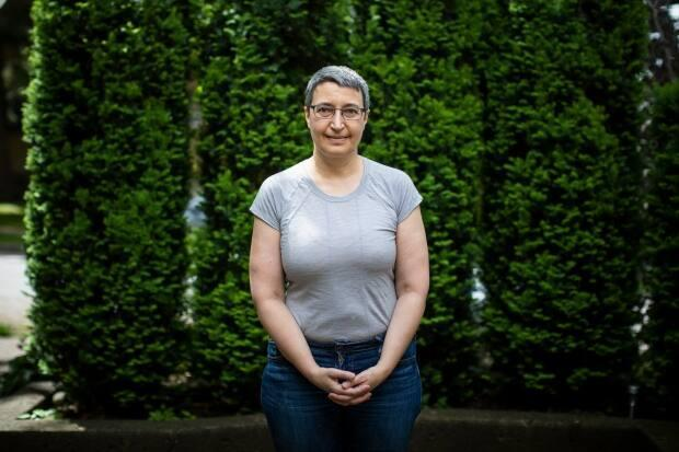 Faith Jones is the only Yiddish speaking member of the Vancouver Jewish Folk Choir.