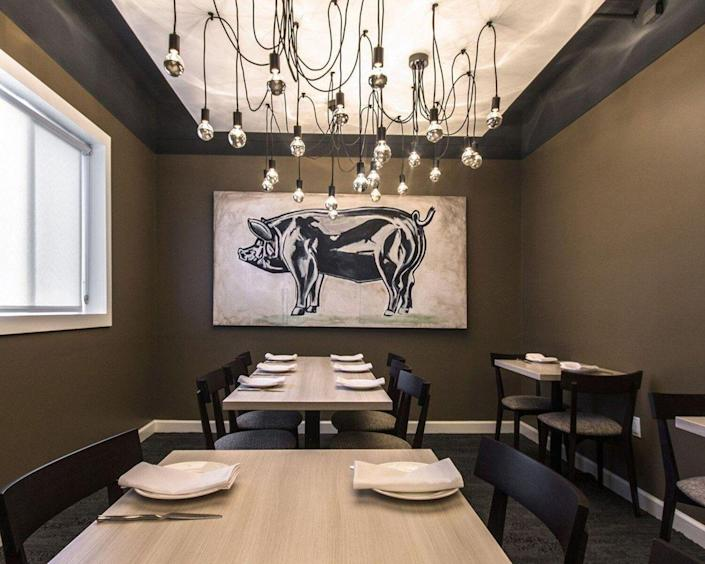 """<p><strong>Little Rock, Arkansas</strong></p><p>Whether you want something from land or sea, you'll dine on elegantly prepared cuisine at<strong> <a href=""""https://www.theburgundyhotel.com/en-us/fine-dining-little-rock?page_id=2683501"""" rel=""""nofollow noopener"""" target=""""_blank"""" data-ylk=""""slk:Table 28"""" class=""""link rapid-noclick-resp"""">Table 28</a></strong>. And they're all about birthdays, anniversaries and other holidays. Don't be surprised to see a written design on your dessert at the end of the night. </p>"""