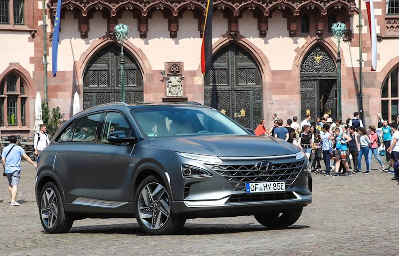 Hyundai and Audi team up on hydrogen fuel cell technology