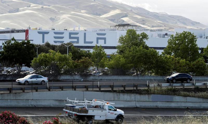 Tesla's primary vehicle factory in Fremont, California