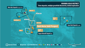 Three deposits, multiple Greenfield discoveries, limited exploration