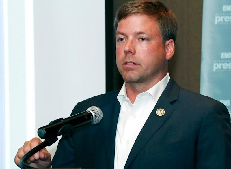 Mississippi Republican Gubernatorial candidate and Rep. Robert Foster (R) refused to let journalist Larrison Campbell ride along with them on a campaign trip<strong>&nbsp;</strong>without a male colleague. (Photo: (Rogelio V. Solis/AP Photo))
