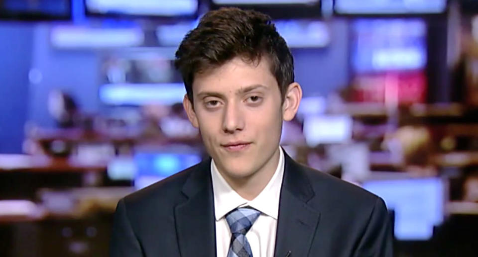 Kyle Kashuv is a student at Marjory Stoneman Douglas High School who is against limiting access to AR-15s. (Photo: Fox News)