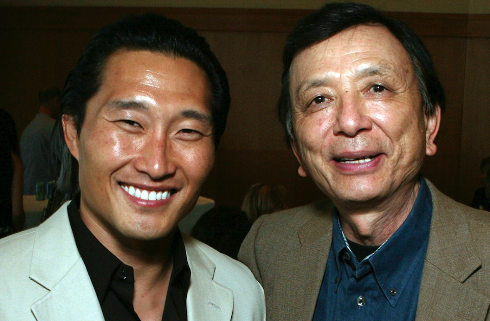 Daniel Dae Kim and James Hong in 2007 (Credit: Ryan Miller/Getty Images)