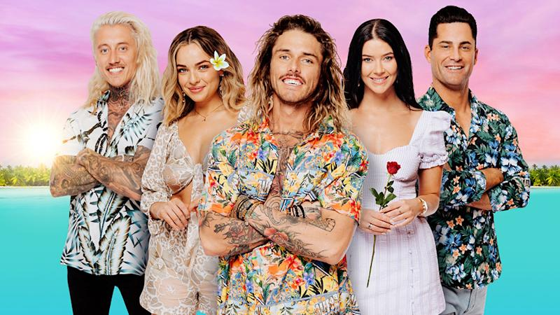 Bachelor in Paradise cast Ciarran, abbie, timm, brittany, jamie