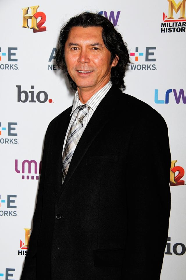 NEW YORK, NY - MAY 08:  Lou Diamond Phillips attends A&E Networks 2013 Upfront at Lincoln Center on May 8, 2013 in New York City.  (Photo by Laura Cavanaugh/Getty Images)