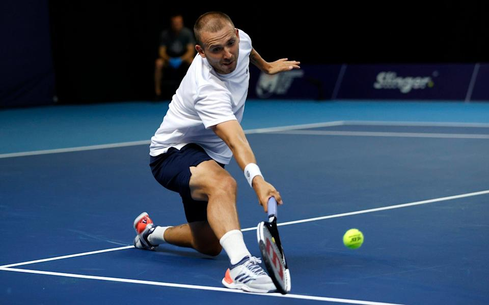Dan Evans   - GETTY IMAGES