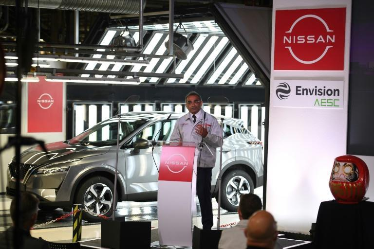 """Nissan's Chief Operating Officer Ashwani Gupta called it a """"landmark day"""" for the company and the UK."""