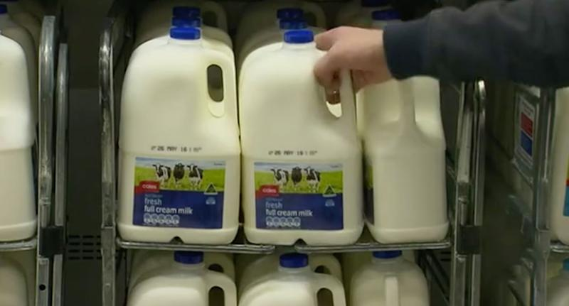 Pressure is mounting on supermarkets to introduce a 10 per cent drought levy on the price of milk amid fears farmers could be forced out of the industry