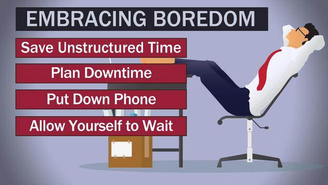 How being bored can stimulate creativity