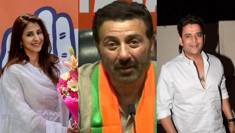 Lok Sabha Elections 2019 Results: Urmila Matondkar, Sunny Deol, Ravi Kishen and Other Movie Celebs-Turned-Politicians You Should Watch Out For