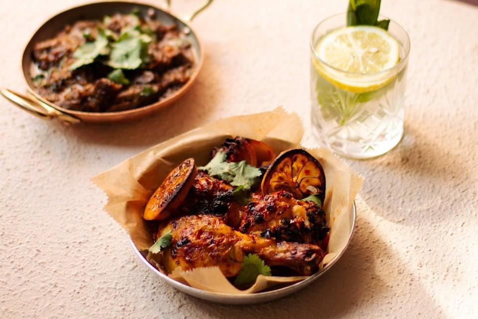 Oxtail, vegetable and chicken tagines will be among the larger dishes (Georgia Rudd)