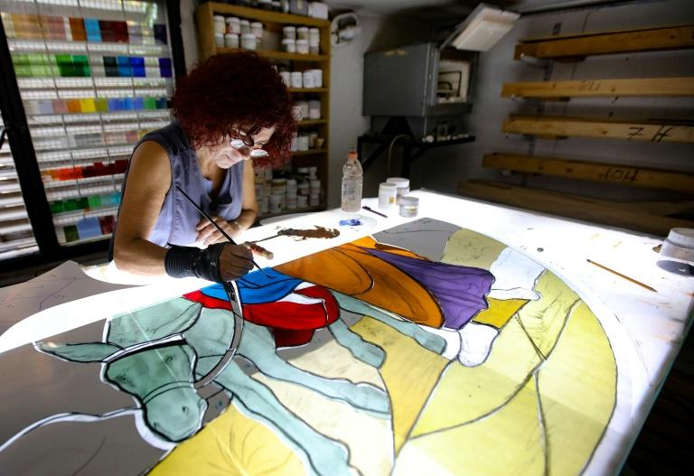 Lebanese artists in overdrive to restore Beirut's beauty