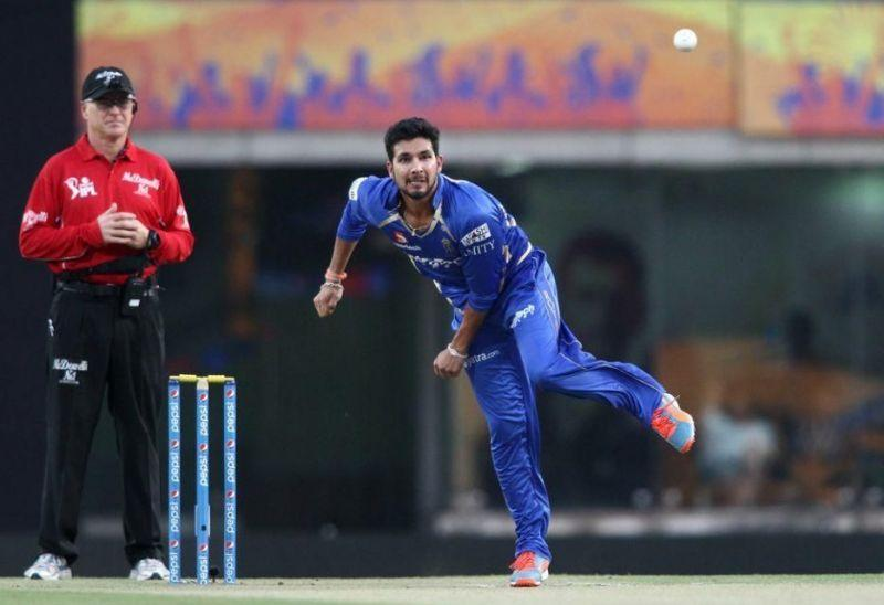 Ankit Sharma bowled only one over in the whole season for RR