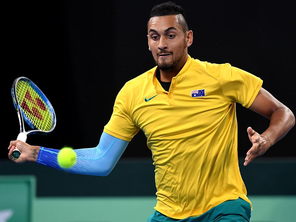 Nick Kyrgios is set to return to Australia's Davis Cup team: Getty