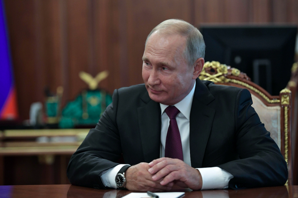 <em>Putin insisted there was 'nothing criminal' about Petrov and Boshirov (Getty)</em>