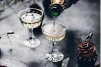 "<p>There's nothing like cheers-ing to the new year with a glass of bubbly. And it's not only modern-day folks who enjoy the tradition. The practice of toasting dates back to the ancient world, <a href=""https://www.npr.org/sections/thesalt/2012/12/31/166576144/why-we-toast-uncorking-a-new-years-tradition"" rel=""nofollow noopener"" target=""_blank"" data-ylk=""slk:NPR reports"" class=""link rapid-noclick-resp"">NPR reports</a>, where people would often raise their glass to someone's good health. No matter how much time has gone by, there's nothing like toasting with those closest to you (even if it's on Zoom this year!).</p>"
