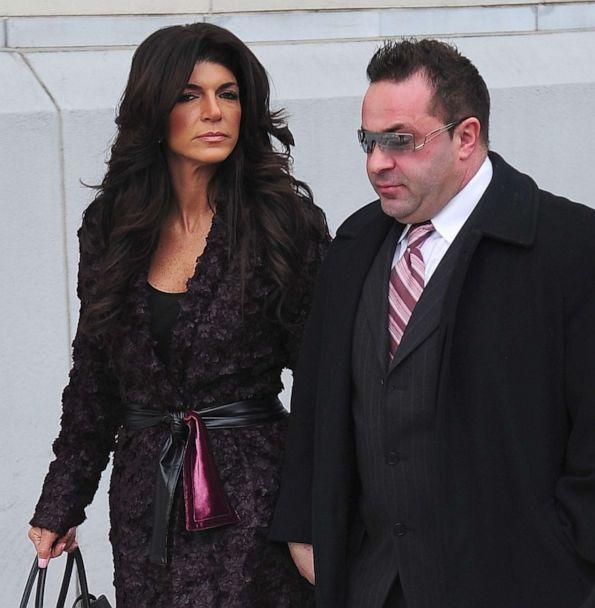 PHOTO: Teresa Giudice and Joe Giudice are seen outside a federal criminal court on March 4, 2014 in Newark, N.J. (Alo Ceballos/GC Images/Getty Images, FILE)