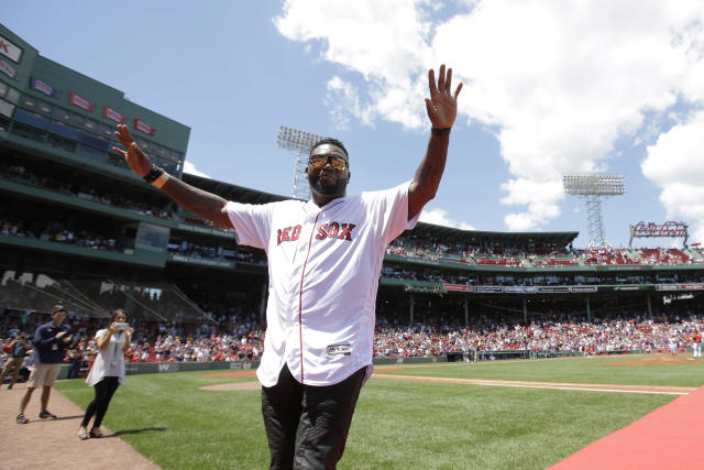 "David Ortiz's condition has been upgraded to ""good"" after he was shot in the Dominican Republic earlier this month. (AP)"