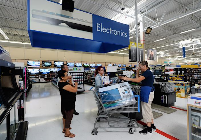 Here's what you should buy on Black Friday from Walmart. (Photo: Kevork Djansezian via Getty Images)