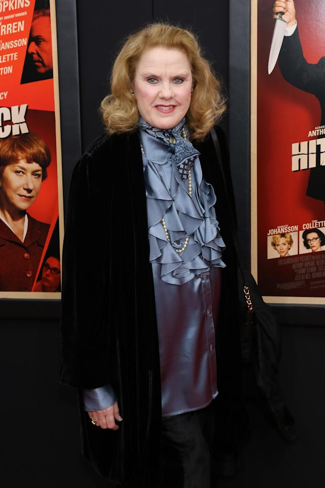 """NEW YORK, NY - NOVEMBER 18:  Actress Celia Weston attends the """"Hitchcock"""" New York Premiere at Ziegfeld Theater on November 18, 2012 in New York City.  (Photo by Neilson Barnard/Getty Images)"""