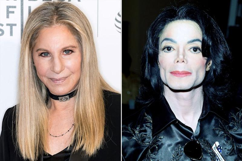 Barbra Streisand; Michael Jackson | Gilbert Carrasquillo/FilmMagic; Carlo Allegri/Getty Images