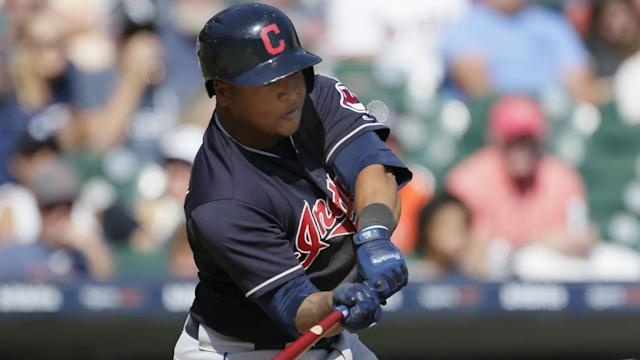 Jose Ramirez smashed his 22nd home run of the season to help the Cleveland Indians extend their winning streak.