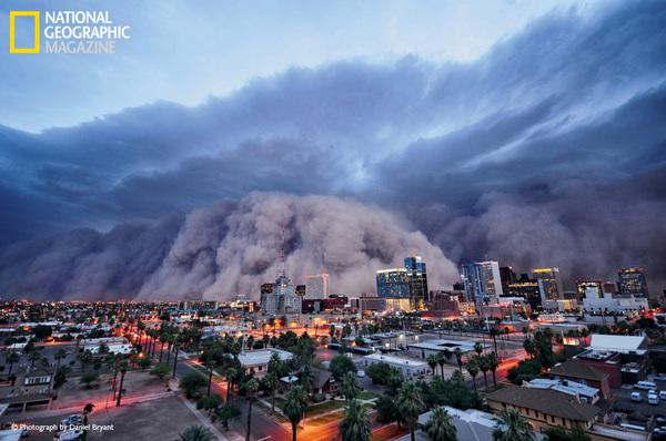 Extreme Weather on Display in Glossy Color in Nat Geo