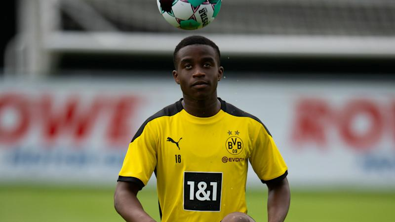 Youssoufa Moukoko names Dortmund players who have helped him the most