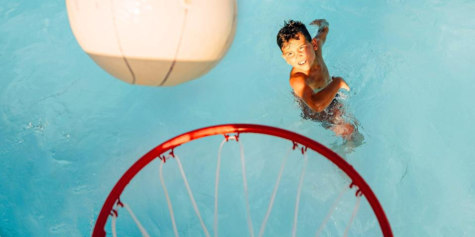 <p>Splashing and swimming in the pool is one of summertime's simple joys. Why not make it even more fun with the addition of a poolside basketball hoop? There are a ton of options available ranging from floating hoops to hoops that you can install permanently to the edge of the pool, and they all have their pros and cons. </p><p>With basketball hoops for the pool, what you choose will largely be dependent on the type of pool you have, the amount of space you have for the hoop, who will be using it, and how much you want to spend. There are sturdy poly and steel models that are perfect for teens that might not work as well for little players, due to how high they sit above the pool. For them, a floating basket might work best. </p><p>This list features poolside basketball hoops in a variety of styles, price points, and materials, all with an eye toward quality. We chose the seven hoops we think will get the most basket for your buck.</p>