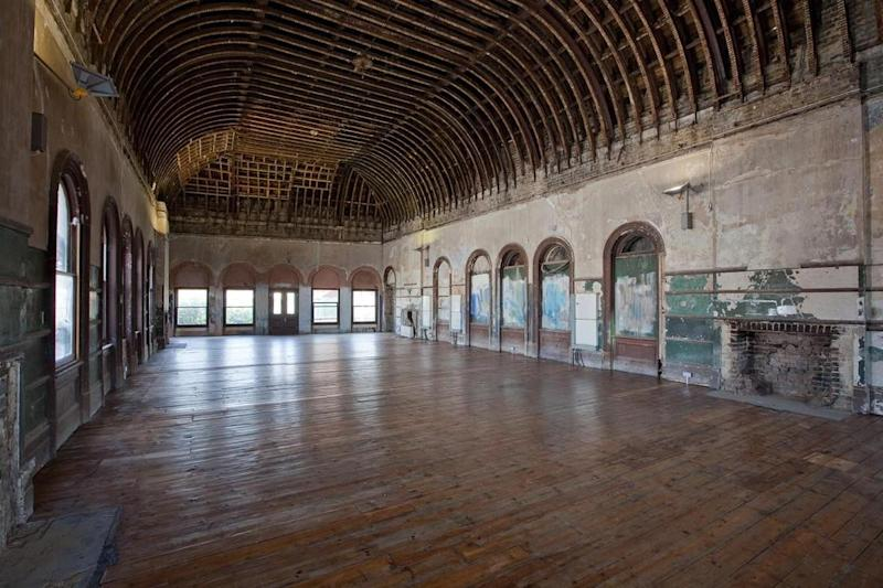 Heyday: The long-lost waiting hall is set to be restored and opened for the community to use. (Benedict O'Looney architects)