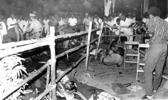 A number of people including had died due to explosion during the assassination of Rajiv Gandhi