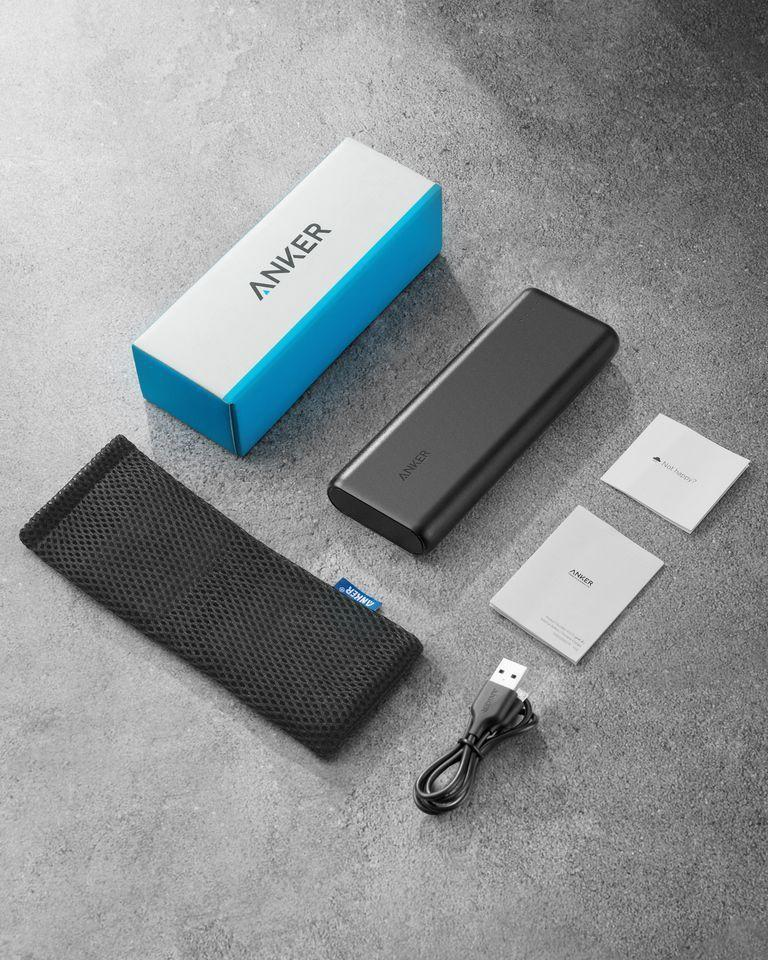 """<p><strong>Anker</strong></p><p>amazon.com</p><p><strong>$32.99</strong></p><p><a href=""""https://www.amazon.com/dp/B00X5RV14Y?tag=syn-yahoo-20&ascsubtag=%5Bartid%7C10055.g.21205637%5Bsrc%7Cyahoo-us"""" rel=""""nofollow noopener"""" target=""""_blank"""" data-ylk=""""slk:Shop Now"""" class=""""link rapid-noclick-resp"""">Shop Now</a></p><p>Even grandpas are guilty of being glued to their phones. This cult-favorite power bank is said to weigh as little as a can of soup but delivers the fastest possible charge. Also included are a charging cable, travel pouch, and USB cord.<br></p>"""