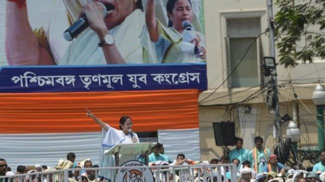 Mamata Banerjee has hit out at BJP while speaking at the Martyrs' Day rally in Kolkata on Sunday.