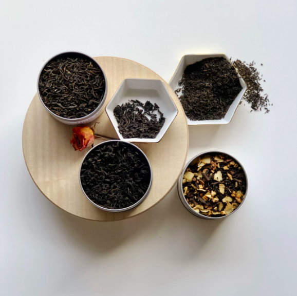 """<h2>Just Add Honey</h2><br><strong>Founder</strong>: Brandi Shelton<br><br>Just Add Honey was created by tea lovers for tea lovers. The brand's collection of unique flavors (Black Coconut, Cacao Chai, and Chocolate Mint to name a few) were made to break away from artificially-flavored, unenticing tea bags. Regardless of your preference, Just Add Honey wants you to find your tea niche and indulge.<br><br>""""While scouring places for tea, we decided we would make what we wanted —combining flavors from around the world that were pleasing to the palate while still keeping it light and interesting, and Just Add Honey Tea Company was born. Fresh, fun, and sophisticated flavors combined with stimulating and soothing ingredients are in every cup...Our mission is to bring thoughtfully blended teas to your doorstep.""""<br><br><em>Shop</em><strong><em> <a href=""""https://justaddhoney.net/"""" rel=""""nofollow noopener"""" target=""""_blank"""" data-ylk=""""slk:Just Add Honey"""" class=""""link rapid-noclick-resp"""">Just Add Honey</a></em></strong>"""