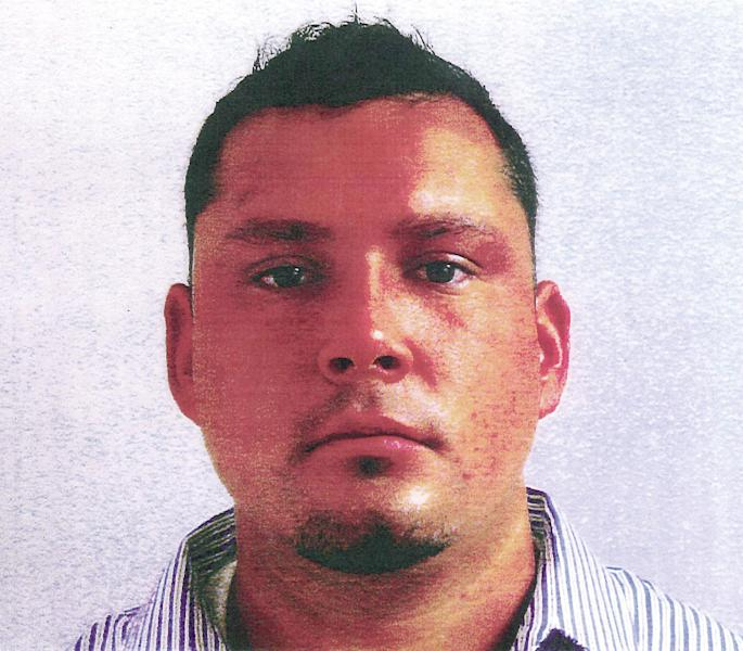 This undated photo provided by the U.S. Attorney's Office in New Hampshire shows David Kwiatkowski, a former lab technician at Exeter, N.H., Hospital, arrested at a hospital in Massachusetts where he is receiving medical treatment. Kwiatkowski, originally from Michigan, was charged Thursday, July 19, 2012, with causing a hepatitis C outbreak involving at least 30 patients who were treated at Exeter Hospital's cardiac catheterization lab. (AP Photo/U.S. Attorney's Office)