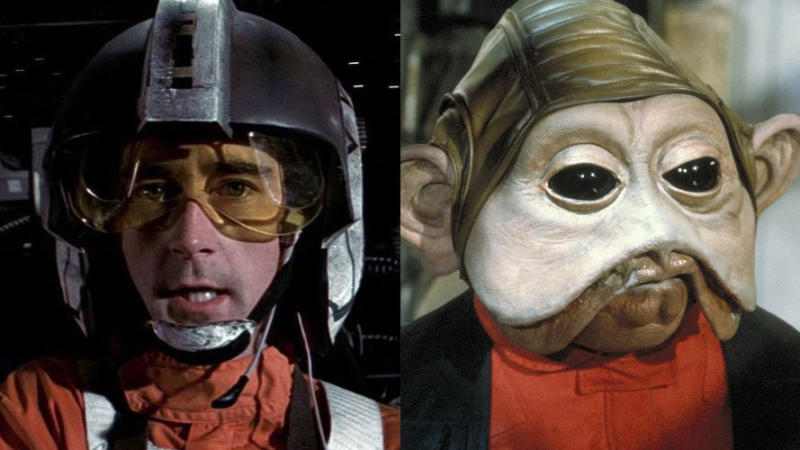 Wedge Antilles and Nien Nunb. (Credit: Disney/Lucasfilm)