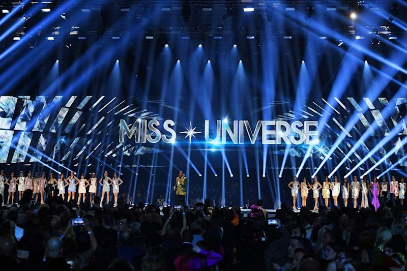 The 2019 Miss Universe competition in Atlanta | VALERIE MACON/AFP/Getty