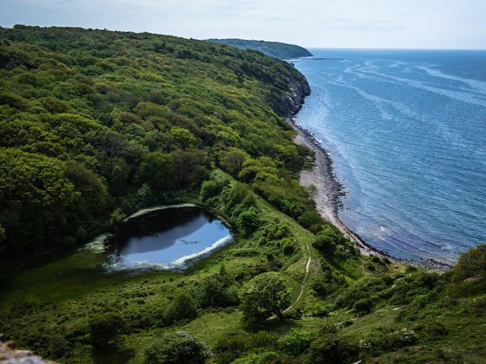 The northern coast line of Bornholm (Getty Images/iStockphoto)