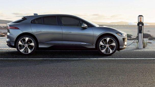 PHOTO: In this undated file photo, the all-electric Jaguar I-PACE is shown. (Jaguar)